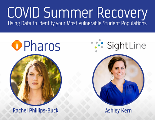 Webinar: COVID Summer Recovery: Using data to identify your most vulnerable student populations