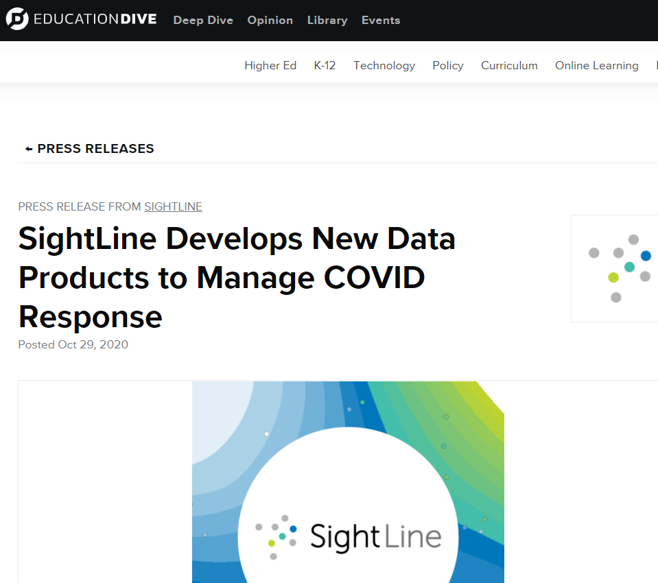New Data Products Developed to Manage COVID Response